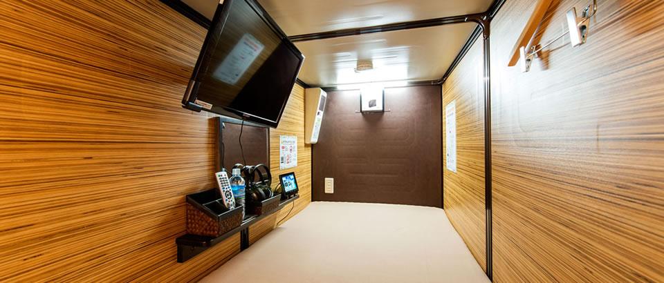 2 Door Charger >> Luxury Capsule Hotel Anshin Oyado