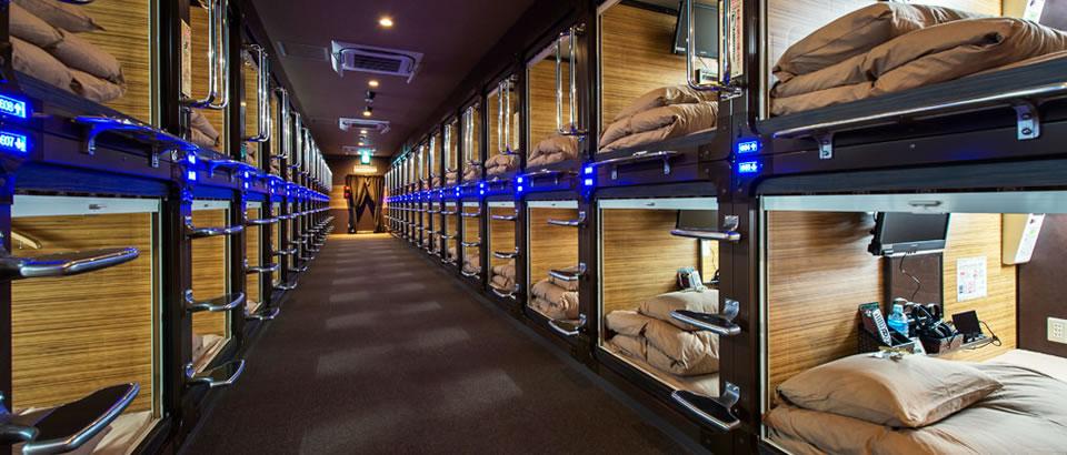 Luxury Capsule Hotel Anshin Oyado